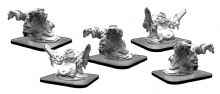 Toxxos and Absorbers  Monsterpocalypse Waste Unit (metal/resin)